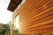 Photo of poplar siding installed on the house