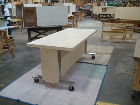 Movable Kitchen Island With Stools
