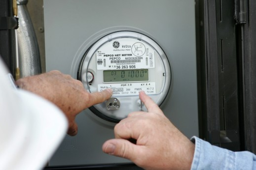 Photo of Solar Decathlon 2009 electrical meter