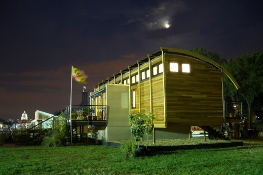 Photo of Maryland's Solar Decathlon 2005 House