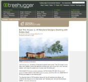 Screenshot of TreeHugger Article
