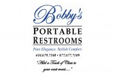 Image of Bobby's Portable Restrooms logo