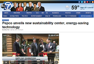 Screenshot of ABC7 (WJLA) website
